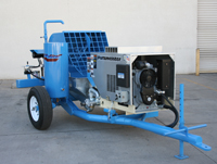 Trailer Mounted Plaster Pumps And Mixers